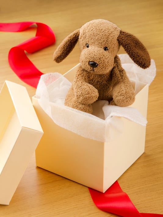 Gift puppy toy