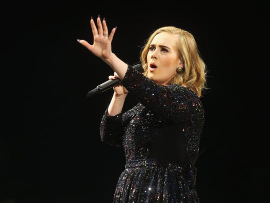 Adele Performs At The Barclaycard Arena, Hamburg
