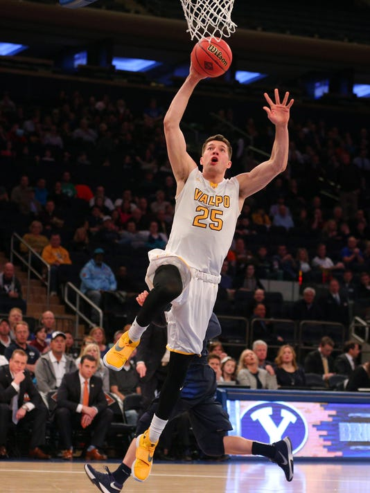 NCAA Basketball: NIT-Semifinals-Valparaiso vs BYU
