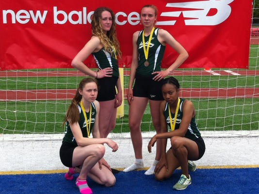 St. Johnsbury relay team