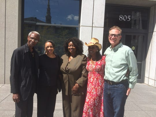 Supporters of an effort to designate King Records in
