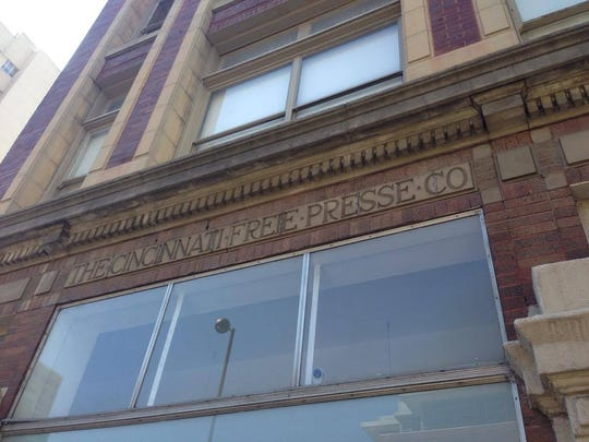 The former offices of the Cincinnati Freie Presse,