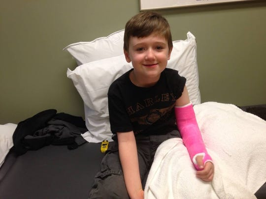 Wyatt's older brother Dillon is a fan of pink too,