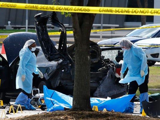 EPA USA TEXAS SHOOTING CLJ CRIME USA TX