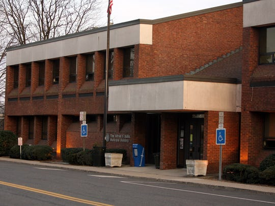 Harrison Town Hall is located in the  Alfred F. Sulla, Jr. Municipal Building in Harrison.