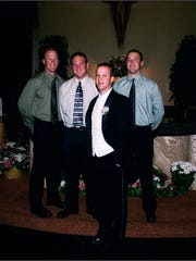 The four Sellers brothers, Luke, Jake, Mac and Bo,