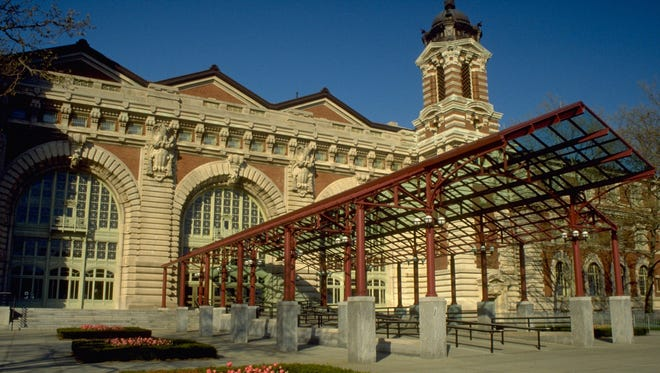 Ellis Island Immigration Museum in New York Harbor will reopen on Monday, though repairs to damage from Hurricane Sandy in 2012 continue.