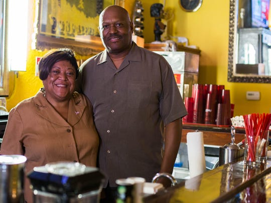 Charles and JoAnn Knox open up their new southern cuisine restaurant Rafaynee downtown Battle Creek.