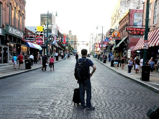 Beale Street is one of Memphis' popular destinations