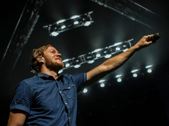 Imagine Dragons performs at U.S. Airways Center on Saturday, July 25, 2015, in Phoenix.