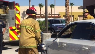Cathedral City Firefighters test out new equipment donated by the Firehouse Subs Public Safety Foundation earlier this year. A grant secured by the department will allow it to hire additional firefighter paramedics.