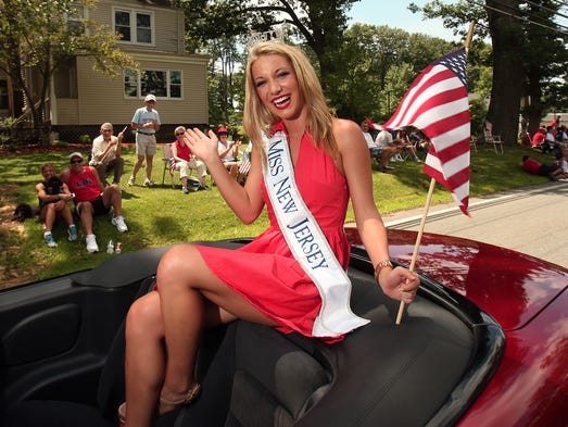 In this July 6, 2013 photo, Miss New Jersey Cara McCollum