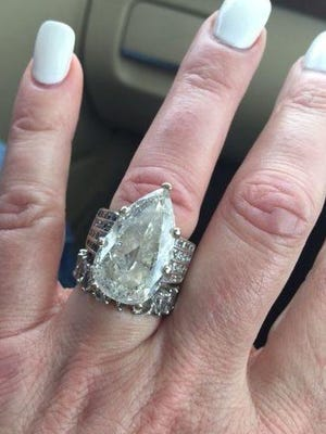 Bernie and Carla Squitieri got back two rings valued at $500,000 and accidentally tossed in the trash, against almost incomprehensible odds.