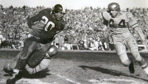 George Taliaferro, first African-American drafted by NFL team, dies