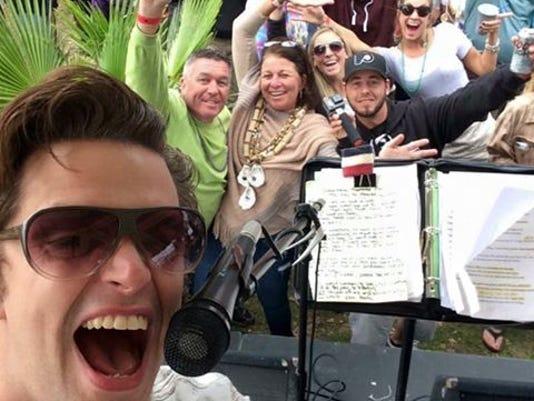 Nick Selby Island Boy Selfie