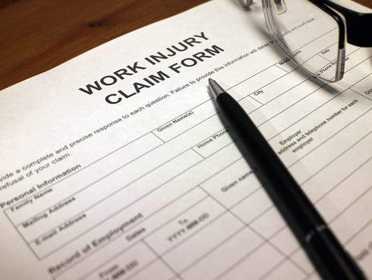 Work Injury Claim Form