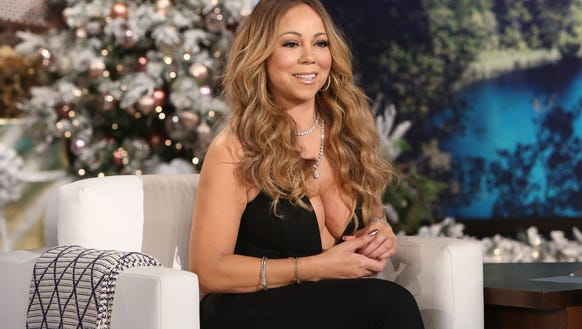 Mariah came dressed to impress.