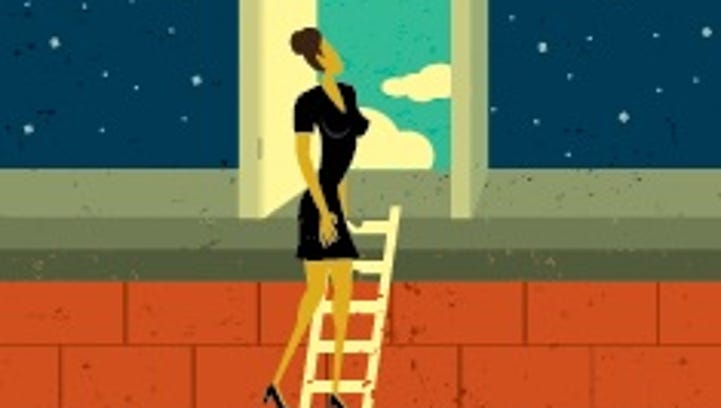Women continue to climb the corporate ladder.