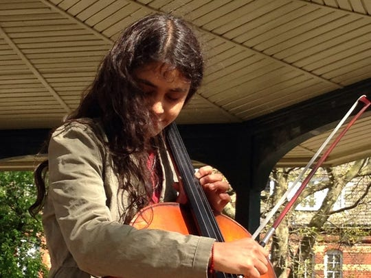 Cellist Isabel Castellvi has performed, recorded and