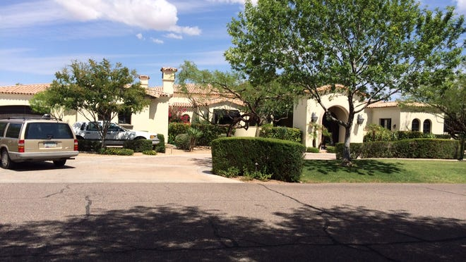 Joseph and Judith Heslin paid $2.395 million for this 5,266-square-foot house at Stoneview in Paradise Valley.