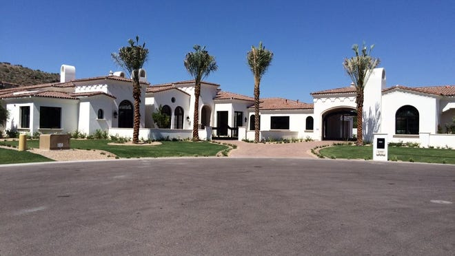 Jonathan and Theresa Clark paid $4 million for this 8,129 square-foot home at Wall Estates in Paradise Valley.