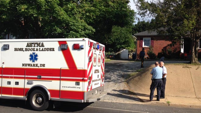 Emergency personnel were on the scene Wednesday morning of a rescue in progress along Capitol Trail (Del. 2) near Newark, reported as a possible drowning of a child pulled from a pool.