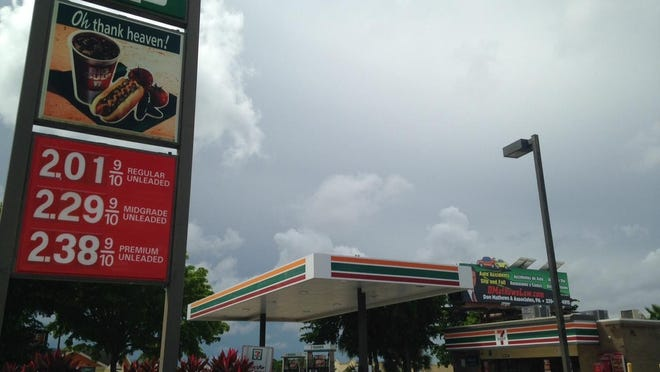 The 7-Eleven at U.S. 41 and Boy Scout Drive.