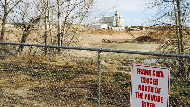 Parts of the Frank State Wildlife Area is closed due to gravel mining.
