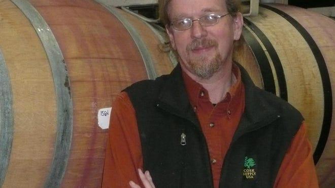 Trumansburg winemaker Dave Breeden
