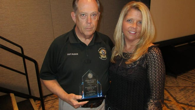 """Capt. Tom Rudder has been honored as """"Jail Administrator of the Year"""" for Tennessee counties with a population over 75,000."""