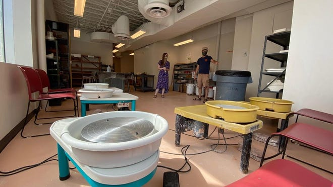 The Massillon Museum offers open studio times in its new ceramics facility. (Submitted photo).
