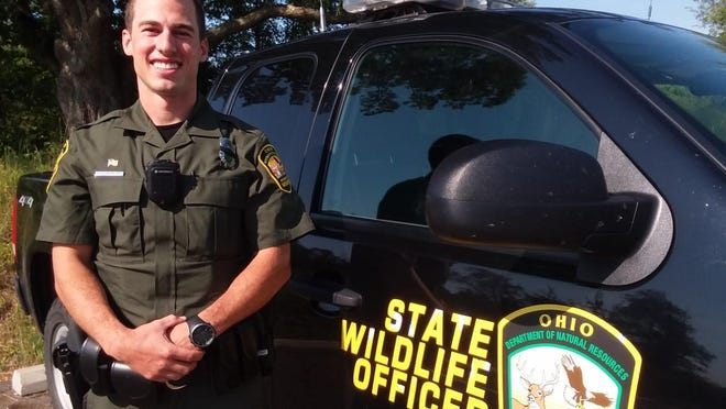 Officer Scott Traver is the new Ohio Department of Natural Resources Division of Wildlife officer for Stark County. Traver, 28, is a former Ohio State Highway Patrol trooper.