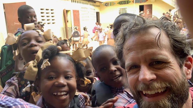 Steve Ritchie of Eliot, Maine, one of the 10 Seacoast residents who traveled to the Eben Ezer School in Haiti this year, will speak at the Oct. 2 fundraiser in which participants will get to zoom into the school in Milot.