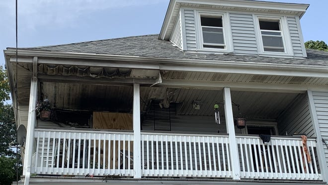 An electrical fire in the basement caused $200,000 worth of damage to this Hospital Hill home.
