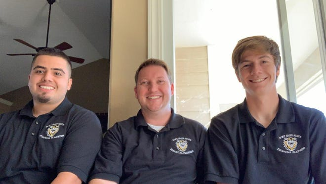 Fort Hays State students Alejo Villegas, Thomas Powell and Ethan Lang placed fourth in the 2020 Financial Planning Association's National Financial Planning Challenge.