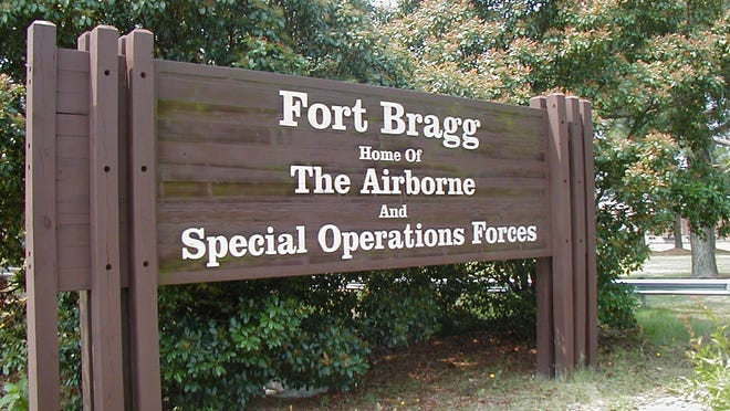 Fort Bragg is the home of the U.S. Army's Airborbe and Special Operations Forces.