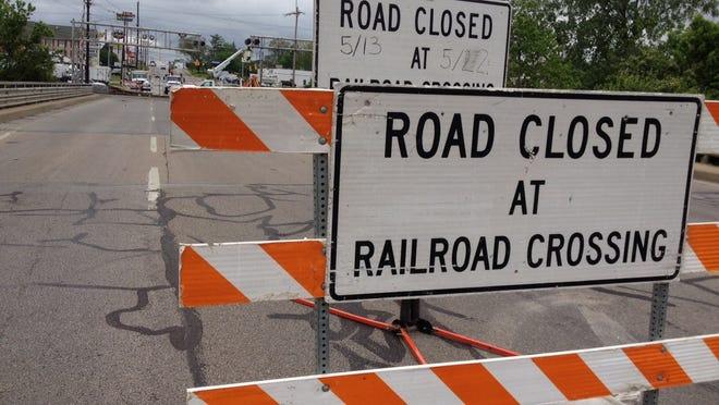 A railroad crossing (stock)
