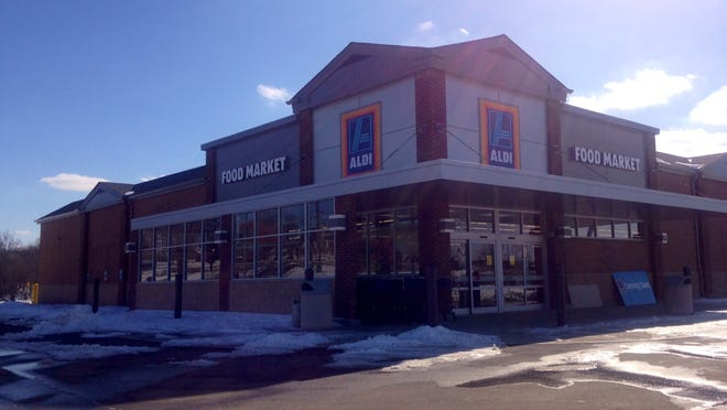 An Aldi grocery store on Westport Road near the Indian Springs.