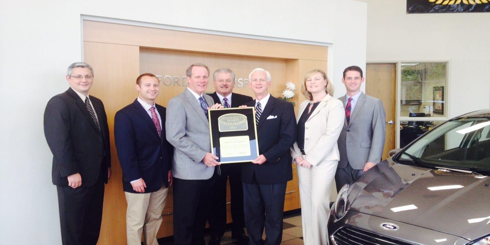 Graham Automall Mansfield >> Graham Automall Wins President S Award