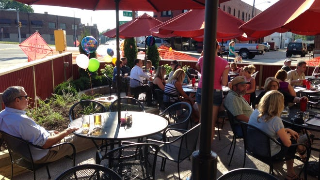 Little Sheba's, which offers inside and patio dining at 175 Fort Wayne Ave., has been a staple in the Historic Depot District for 25 years.
