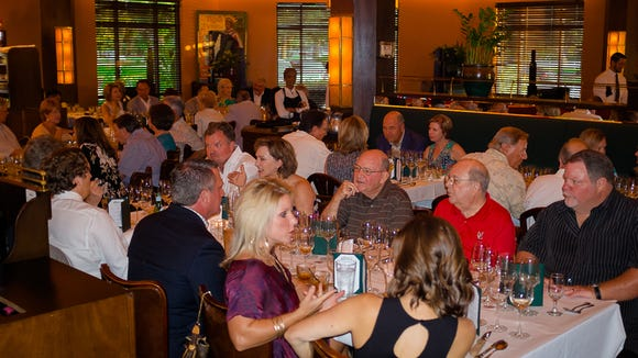 Charley G's regularly hosts wine dinners.