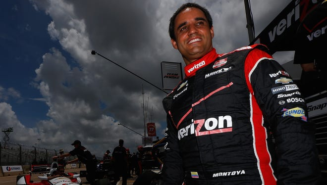 Juan Pablo Montoya, who lives in Miami, says he isn't bothered by the heat and humidity drivers are facing in Houston for this weekend's IndyCar doubleheader.