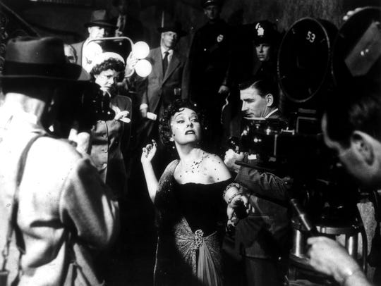 "Gloria Swanson is ready for her close-up in ""Sunset"