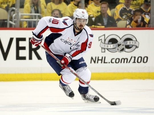 Forward Marcus Johansson. He was traded by the Capitals to the Devils for a second-round pick and third-round pick in 2018.