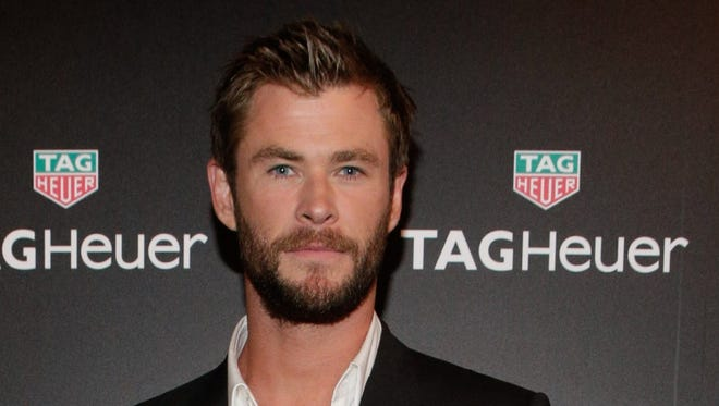 """Thor"" actor Chris Hemsworth will wave the green flag at the Indianapolis 500."
