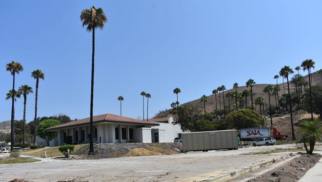 The debris from the two Vista del Mar buildings burned in the Thomas Fire has been removed. Part of the psychiatric hospital could reopen Sept. 10.
