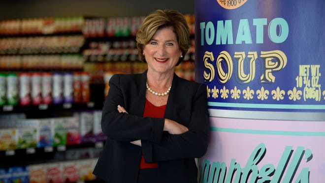 Denise Morrison, CEO of Campbell's Soup