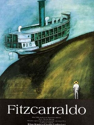 Fitzcarraldo poster.