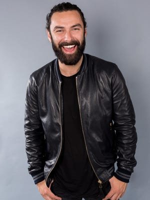 "FILE - In this July 27, 2016 file photo, actor Aidan Turner, a cast member in the PBS Masterpiece series ""Poldark"", poses for a portrait during the 2016 Television Critics Association summer press tour in Beverly Hills, Calif. The remake of the 1970s drama series begins its second season Sunday, Sept. 25, with a two-hour episode. (Photo by Willy Sanjuan/Invision/AP, File)"