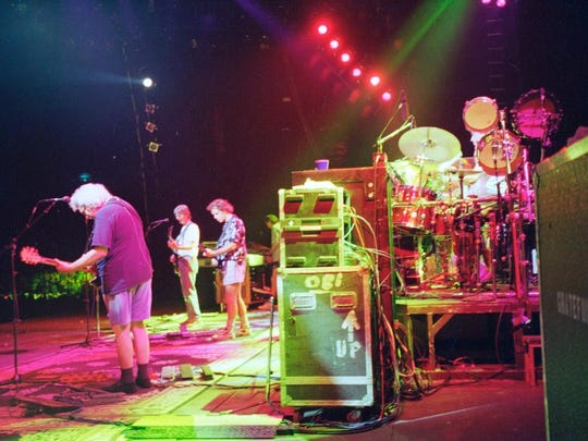 U.S. Sen. Patrick Leahy, D-Vermont, took this photo of the Grateful Dead at a July 16, 1994 concert.